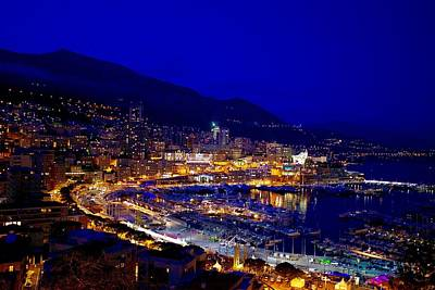 Royalty-Free and Rights-Managed Images - Bright lights of Monaco. by Joe Vella