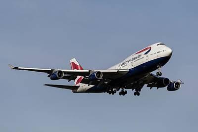 Achieving - British Airways Boeing 747-436 by David Pyatt