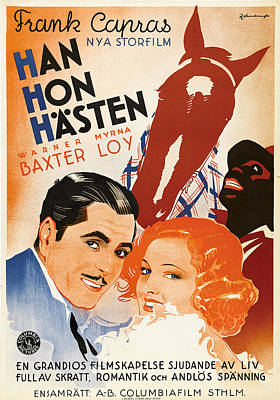 Royalty-Free and Rights-Managed Images - Broadway Bill - 1934 by Stars on Art