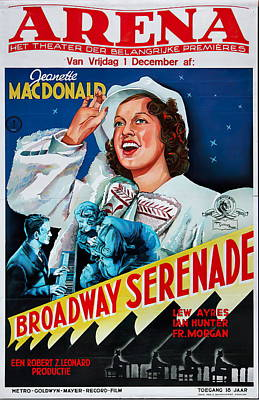 Royalty-Free and Rights-Managed Images - Broadway Serenade - 1939 by Stars on Art