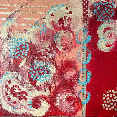 Painting - Brocade by Jessica Levant