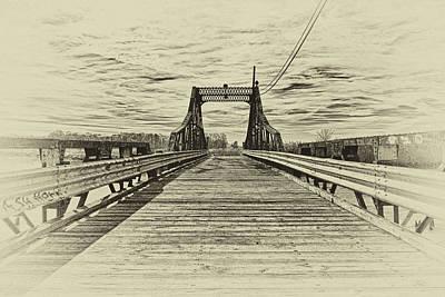 Photograph - Broken Bridge by Louis Dallara