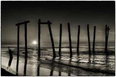 Photograph - Broken Piers by Louis Dallara