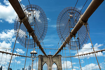 Royalty-Free and Rights-Managed Images - Brooklyn Bridge 2 by Pelo Blanco Photo