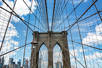 Royalty-Free and Rights-Managed Images - Brooklyn Bridge 3 by Pelo Blanco Photo