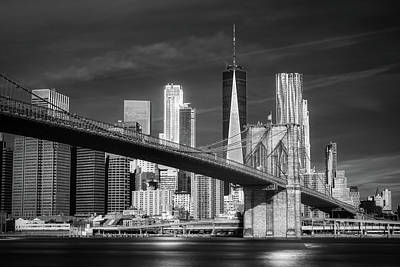 Staff Picks Judy Bernier - Brooklyn Bridge and Freedon Tower Infrared by Jerry Fornarotto