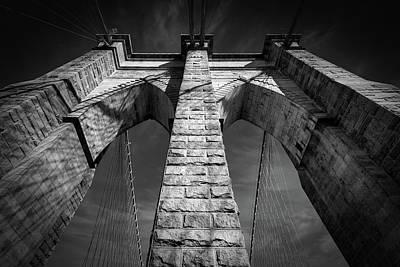 Unicorn Dust - Brooklyn Bridge Tower by Bill Chizek