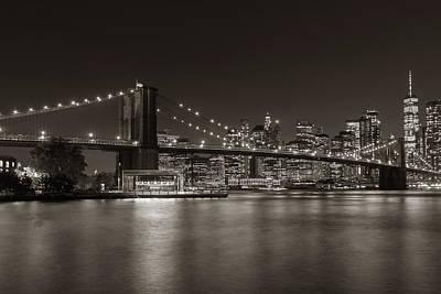 Movie Tees - Brooklyn Bridge by Walter Felix