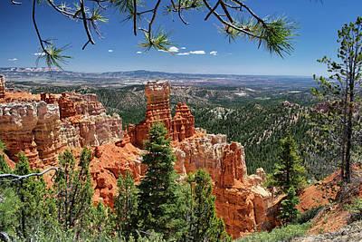 Photograph - Bryce Canyon National Park by David Hintz