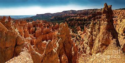 Winter Animals Rights Managed Images - Bryce Canyon National Park Panorama Royalty-Free Image by Wayne Moran
