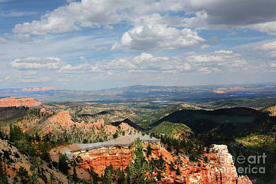 Claude Monet - Bryce Canyon Storm Clouds by Steve Cukrov