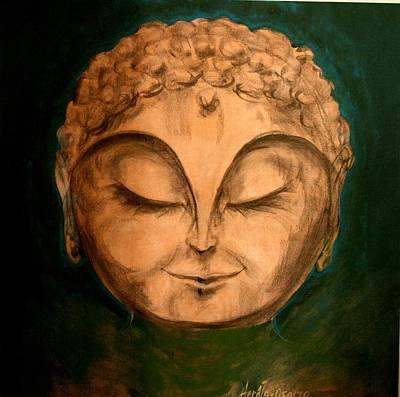 Painting - Buddha by Jose Herazo-osorio