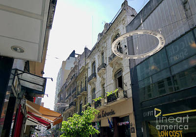 Mellow Yellow - Buenos Aires old and new by Margaret Brooks