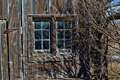 Whimsically Poetic Photographs - Bunkhouse Windows by Alana Thrower