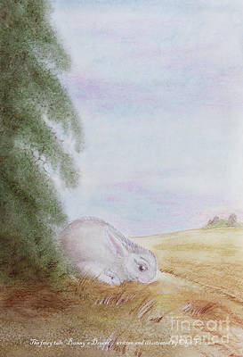 Painting - Bunny's Dream by Olga Verasen