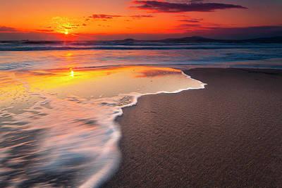 Patriotic Signs - Burgas Beach by Evgeni Dinev