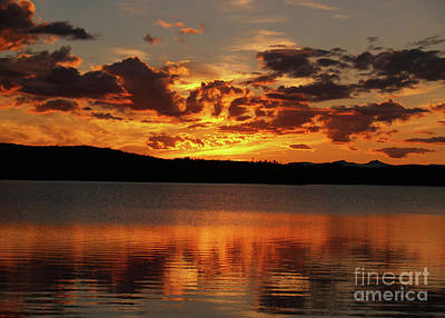 Womens Empowerment Rights Managed Images - Burning Sky Royalty-Free Image by Torfinn Johannessen