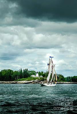 Claude Monet - Burnt Island Lighthouse by Alana Ranney