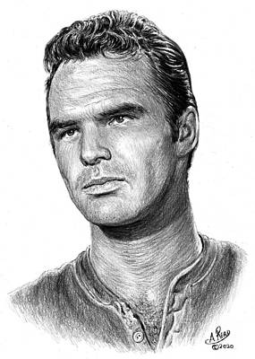 Studio Grafika Zodiac Rights Managed Images - Burt Reynolds as Quint Royalty-Free Image by Andrew Read