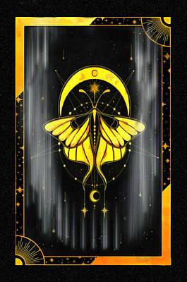 Studio Grafika Vintage Posters - Butterfly Art Deco by Mario Carini