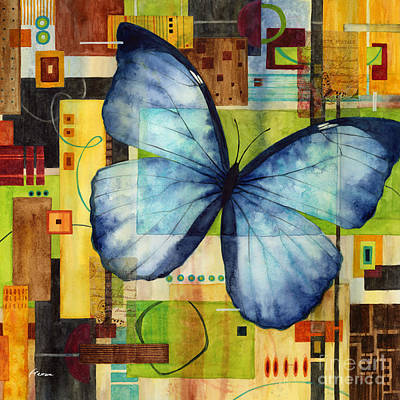 Royalty-Free and Rights-Managed Images - Butterfly Effect-Square Format by Hailey E Herrera