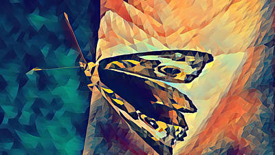 Mixed Media - Butterfly in Hand by Pierce Anderson