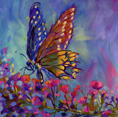 The Champagne Collection - Butterfly Kisses by Chris Brandley
