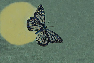 Albert Bierstadt - Butterfly Moon by Ernie Echols