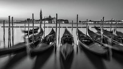 All You Need Is Love - BW Study - Classic Venice by David Downs