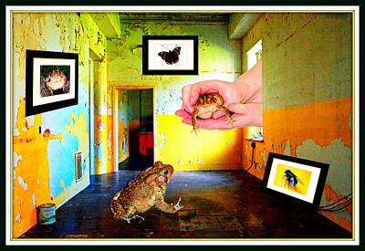 Surrealism Digital Art - By Golly Hears The Friend You Asked For by Constance Lowery