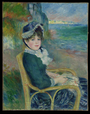 The Beach House - By the Seashore 1883 Auguste Renoir French by MotionAge Designs