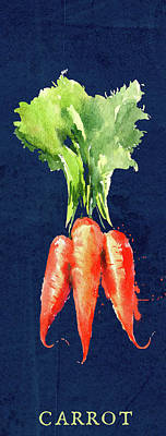Mixed Media Royalty Free Images - C for Carrot Royalty-Free Image by Brandi Fitzgerald