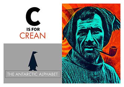 Digital Art - C Is For Crean by No Alphabet