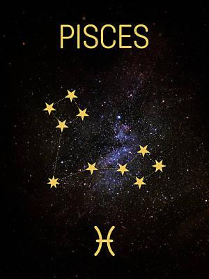 Digital Art - C02 Pisces by Andrea Gatti