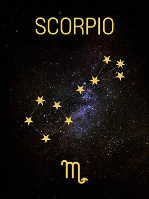 Digital Art - C02 Scorpio by Andrea Gatti