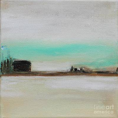 Painting - Cabin in A Clearing by Kim Nelson