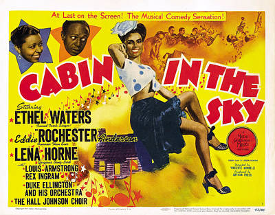 Halloween Movies - Cabin in the Sky poster 1943 by Stars on Art