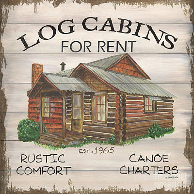 Royalty-Free and Rights-Managed Images - Cabin Rentals 1 by Debbie DeWitt