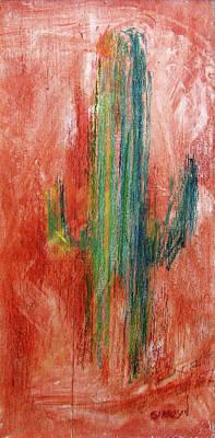 Painting - Cactus by David Garrison