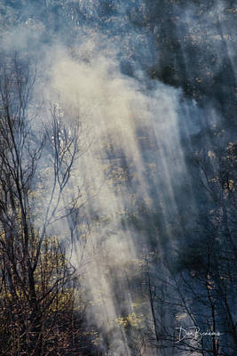 Dan Beauvais Royalty-Free and Rights-Managed Images - Cades Cove Burn 1592 by Dan Beauvais