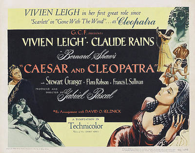 Bringing The Outdoors In - Caesar and Cleopatra - 1945 by Stars on Art