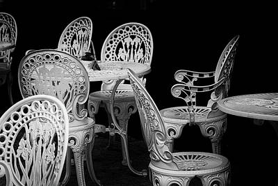 Have A Cupcake - Cafe Chairs by David Ridley