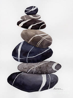 Priska Wettstein Land Shapes Series - Cairn by Hailey E Herrera