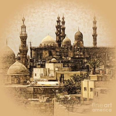 David Bowie - Cairo art-sepia by Gull G