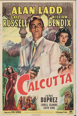 Royalty-Free and Rights-Managed Images - Calcutta poster 1947 by Stars on Art