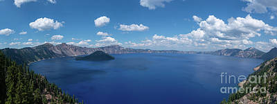 Royalty-Free and Rights-Managed Images - Caldera Panorama  by Michael Ver Sprill