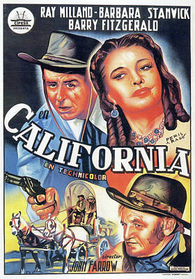 Halloween Movies - California - 1946 by Stars on Art