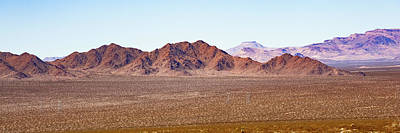 Game Of Chess - California Desert Hills Mountain Landscape Panorama by Gregory Ballos