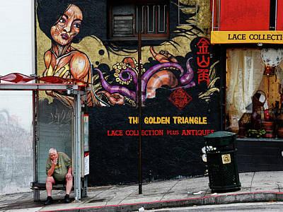 Everett Collection - California - San Francisco street scene by Jeff Burgess