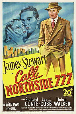 Halloween Movies - Call Northside 777 - 1948 by Stars on Art